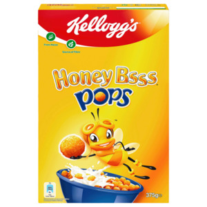 Kellogg's Honey Bsss Pops 375g