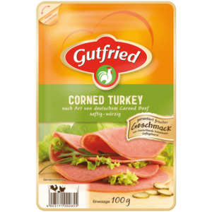 Gutfried Corned Turkey 100g