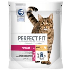 Perfect Fit Katzenfutter adult+1 Reich an Huhn