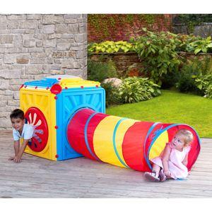 Kinder-Aktivitätenwürfel mit Tunnel