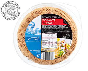 LYTTOS Pitataschen, 4Stück