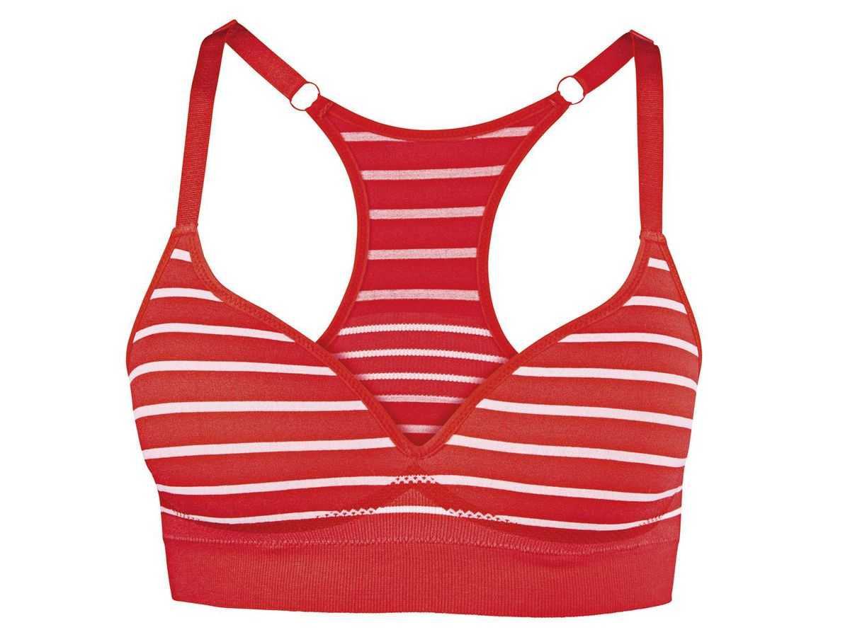 Bild 2 von CRIVIT® Damen Seamless-Sportbustier, Medium Level