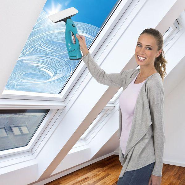 CLEANmaxx Fensterreiniger 3in1 türkis