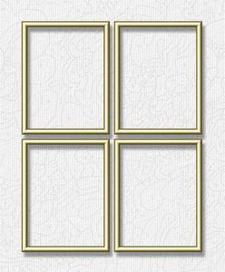 Malen nach Zahlen Alurahmen Quattro 18 x 24 cm