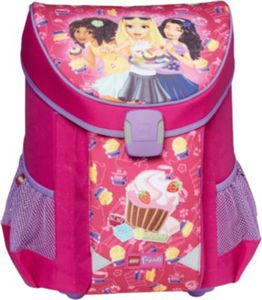 Schulranzenset LEGO EASY Friends Cup Cake, 3-tlg.