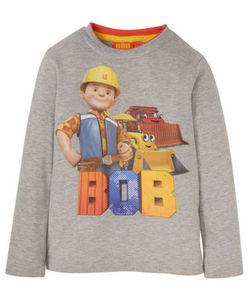 """Bob der Baumeister - Langarmshirt - meliert, """"Bob"""""""