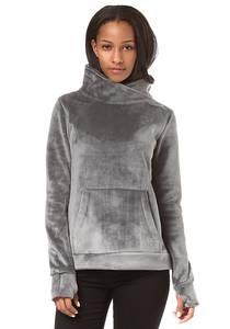 Bench Her. Overhead Fleece Funnel - Sweatshirt für Damen - Grau