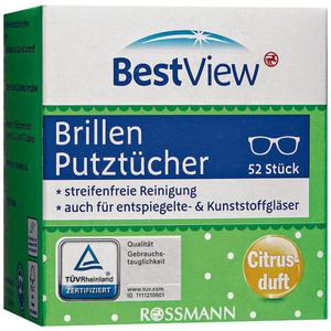 Best View Brillen Putztücher