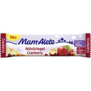 Alete MamAlete Müsliriegel Cranberry 2.13 EUR/100 g (24 x 40.00g)