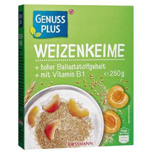 GENUSS PLUS Weizenkeime 0.32 EUR/100 g
