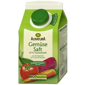 Alnatura Bio Gemüsesaft 1.98 EUR/1 l
