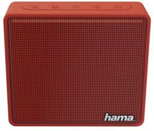 Hama Pocket Aktiver Multimedia-Lautsprecher rot