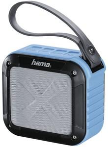 Hama Rockman-S Aktiver Multimedia-Lautsprecher schwarz/blau