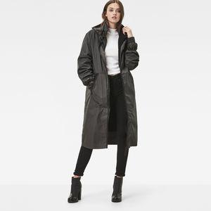 Strett Long Boyfriend Coat