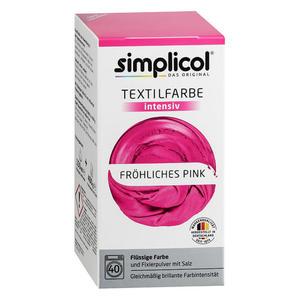 simplicol Textilfarbe intensiv Nr. 1805 Fröhliches-Pink 1 Set