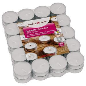 RUBIN Qualitäts-Teelichte 40 Stk.