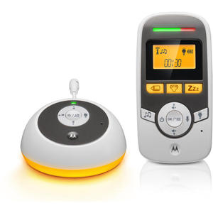 Motorola Audio Babyphone MBP161TIMER mit Baby-Pflege-Timer