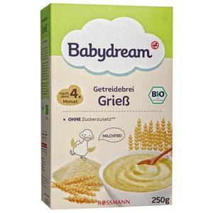 Babydream Bio Getreidebrei Grieß 0.64 EUR/100 g