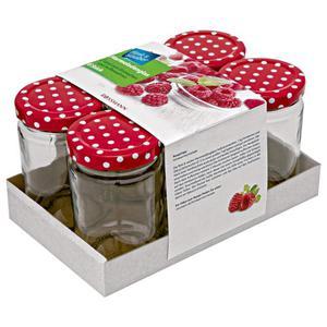 flink & sauber Marmeladengläser 6 x 150 ml