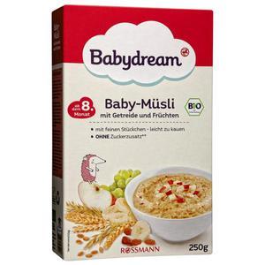 Babydream Bio Baby-Müsli 0.72 EUR/100 g