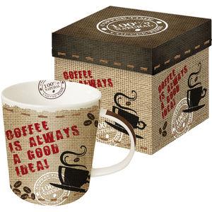 ppd Porzellan Becher Trend-Mug, Always Coffee
