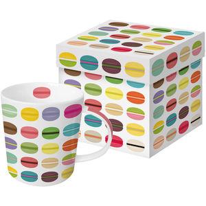 ppd Porzellan Becher Trend-Mug, Art Deco Macaron