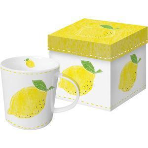 ppd Porzellan Becher Trend-Mug, Fashion Lemon