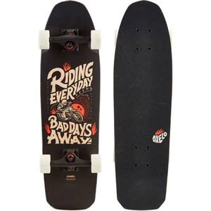 OXELO Cruiser Skateboard City Thrasher Ride schwarz, Größe: No Size