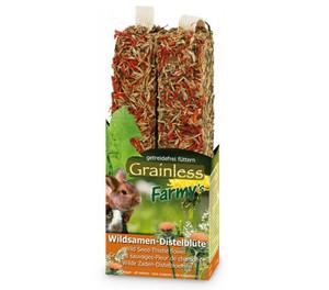 JR Farm Grainless Farmys Wildsamen-Distelblüten, Nagersnack, 140 g