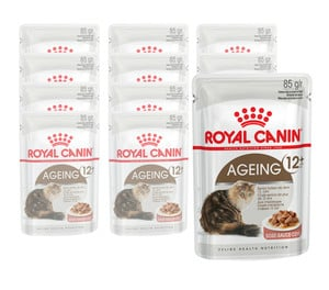 Royal Canin Ageing +12, Nassfutter, 12 x 85g