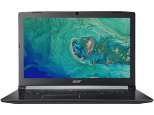 ACER Aspire 5 (A517-51G-51ZZ), Noteboook mit 17.3 Zoll Display, Core™ i5 Prozessor, 8 GB RAM, 128 GB SSD, 1 TB HDD, GeForce® MX150, Schwarz