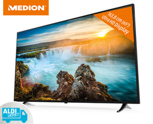 "163,8 cm (65"") Ultra HD Smart-TV mit LED-Backlight Technologie MEDION® LIFE®  X165151"