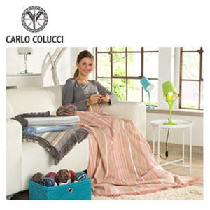 Premium-Baumwoll-Wohndecke 150 x 200 cm, je, Tischlampe - versch. Farben - ca. 39 cm hoch je 17,99 €, Beistelltisch - zusammenklappbar - Maße: ca. H 52 x 45 cm Ø 24,95 €