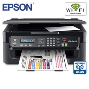 4-in-1-Multifunktionsgerät WorkForce WF-2510WF • kabelloses Drucken über WLAN auch mit mobilen Geräten (Tablet, Smartphone usw.) über Epson iPrint • kostengünstige Einzeltinten