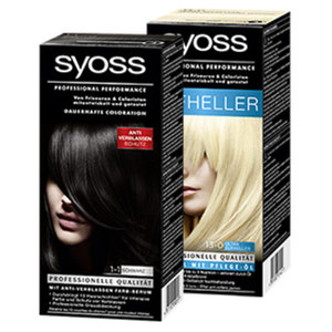 Syoss Coloration versch. Farben, jede Packung