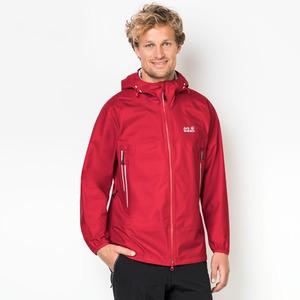 Jack Wolfskin Hardshell Männer Mountain Pass Men XXL ruby red