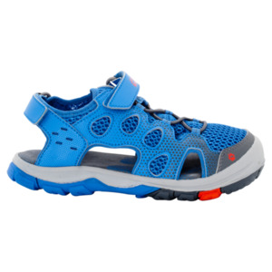Jack Wolfskin Kinder Sandalen Titicaca VC Low Kids 34 wave blue