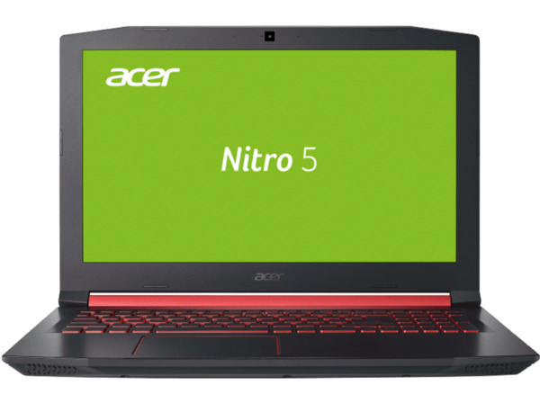 ACER Nitro 5 (AN515-51-522Q), Gaming Notebook mit 15.6 Zoll Display, Core™ i5 Prozessor, 8 GB RAM, 256 GB SSD, GeForce® GTX 1050, Schwarz