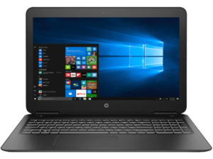 HP Pavilion 15-bc330ng, Gaming Notebook mit 15.6 Zoll Display, Core™ i5 Prozessor, 8 GB RAM, 1 TB HDD, 128 GB SSD, GeForce GTX 950M, Shadow Black