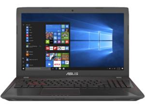 ASUS FX553VE-DM486T, Gaming Notebook mit 15.6 Zoll Display, Core™ i7 Prozessor, 24 GB RAM, 1 TB HDD, 256 GB SSD, GeForce GTX 1050 Ti, Schwarz