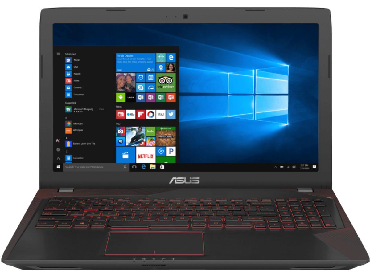 Bild 5 von ASUS FX553VE-DM486T, Gaming Notebook mit 15.6 Zoll Display, Core™ i7 Prozessor, 24 GB RAM, 1 TB HDD, 256 GB SSD, GeForce GTX 1050 Ti, Schwarz