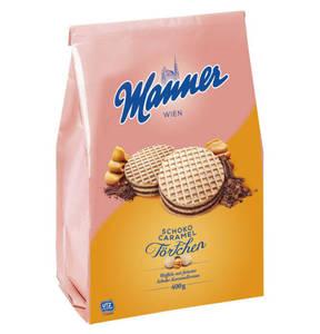 Manner             Törtchen Schoko-Caramel, 400g                  (2 Stück)