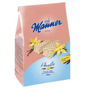 Manner             Vanille Schnitten, 400g                  (2 Stück)