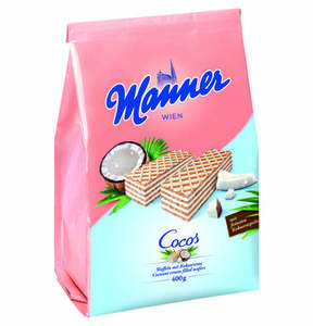 Manner             Cocos Schnitten, 400g                  (2 Stück)