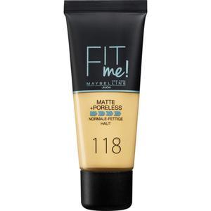 Maybelline New York Fit me! Matte+Poreless mattierend 18.53 EUR/100 ml