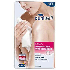 Duniwell einmal Intimpflegewaschtücher