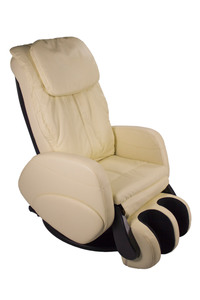 Alpha Techno Massagesessel 339A-16, Lederlook Beige