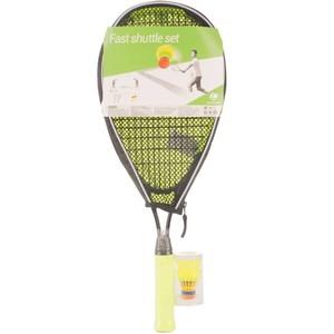 Badminton Set Fast Shuttle schwarz/gelb ARTENGO