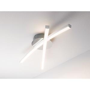 casaNOVA verstellbare LED Deckenlampe 2 flg JAMBO Chromfarbig