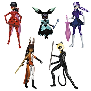 Disney Miraculous - Aktionfiguren 5er Set (ca. 15 cm)